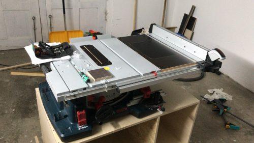 Fräseinlegeplatte FEP-GKF / Bosch GTS 10xc für Kreg incl. integrierten Levelsystem photo review