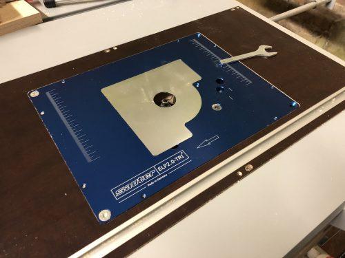 Fräseinlegeplatte FEP-GSF / Bosch GTS 10xc für Sauter und Lets Bastel photo review
