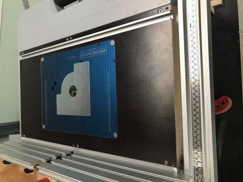 Fräseinlegeplatte FEP-GSF / Bosch GTS 10xc für Sauter photo review